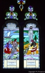 Glas-in-loodraam in the new St. George's Church in Knysna / Copyright © JTravel.nl