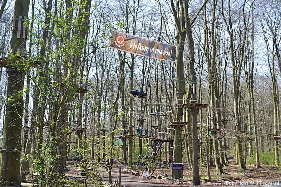 Fun Forest in het Amsterdamse Bos in Amsterdam