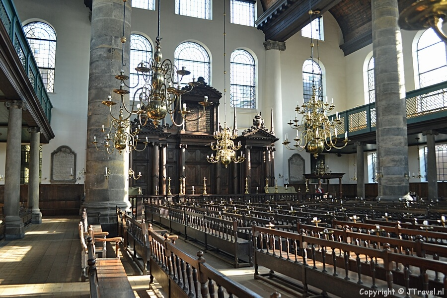 De Portugese Synagoge in Amsterdam