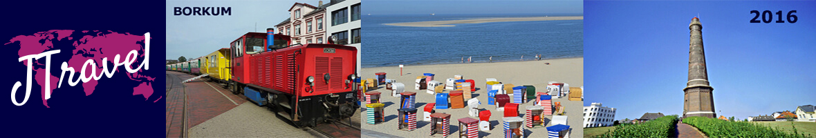 Header Borkum / / Copyright © JTravel.nl