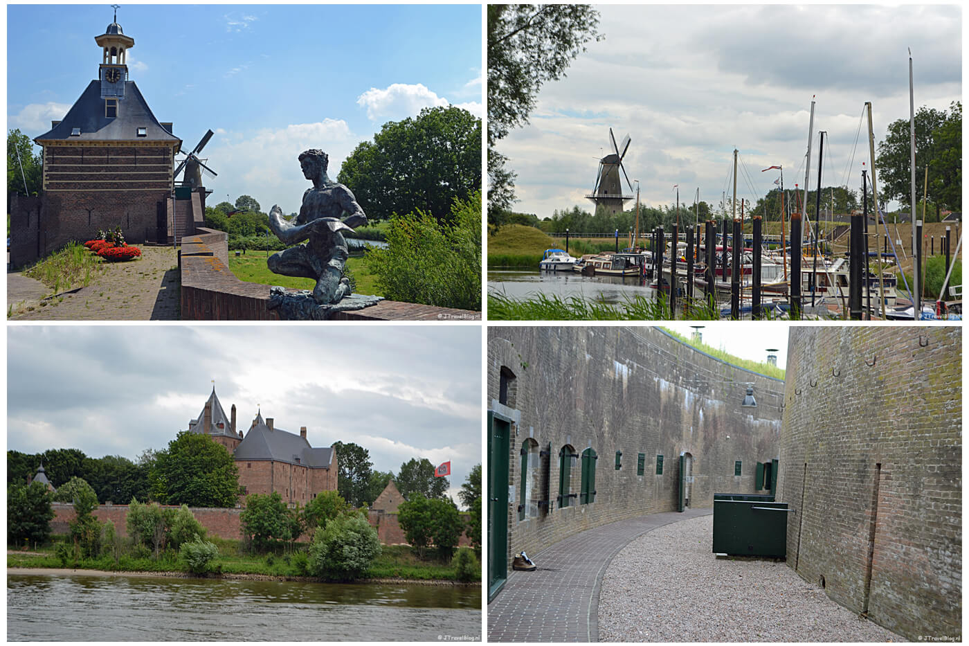 Collage van Instameet Waterliniepad part 3 op 6-7-2019
