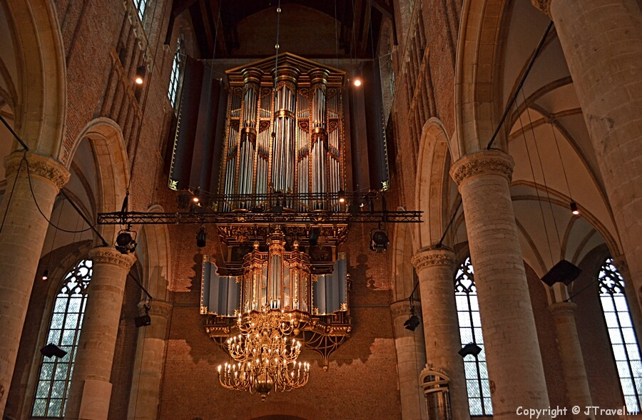 De Pieterskerk in Leiden / Copyright © JTravel.nl