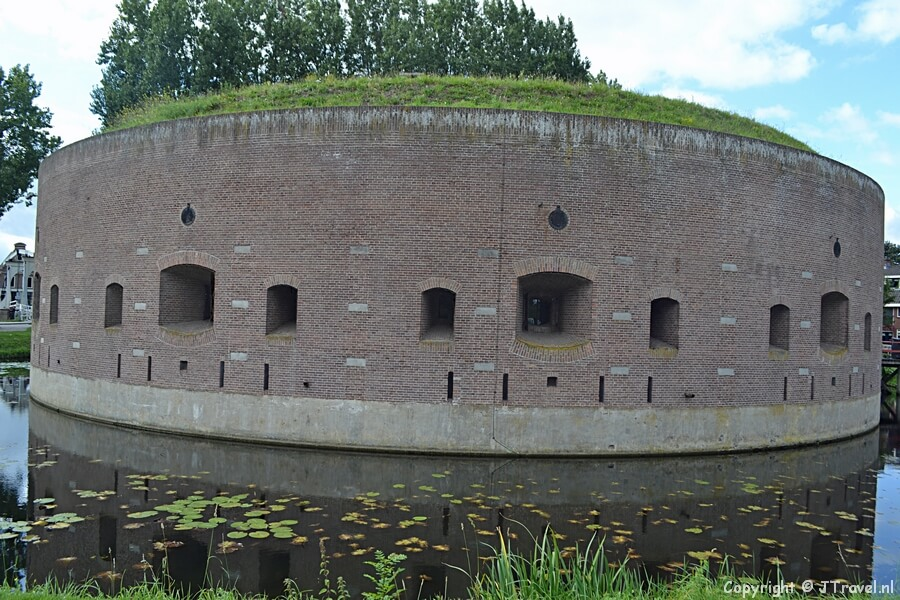 Fort Ossenmarkt in Weesp / Copyright © JTravel.nl