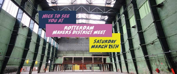 Rotterdam Makers District Instameet