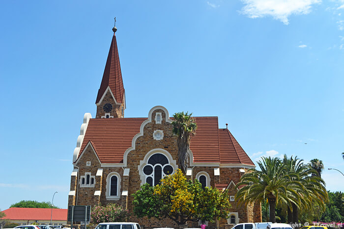 De Christuskirche in Windhoek / Copyright © JTravel.nl