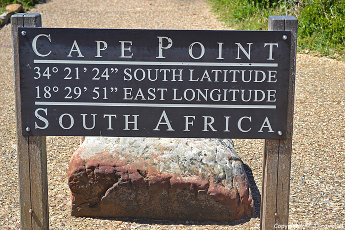 Bord van Cape Point